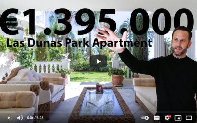 Las Dunas Park – Estepona, Luxury Ground Floor Apartment for sale