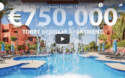 Torre bermeja – Estepona Luxury middle floor Videotour