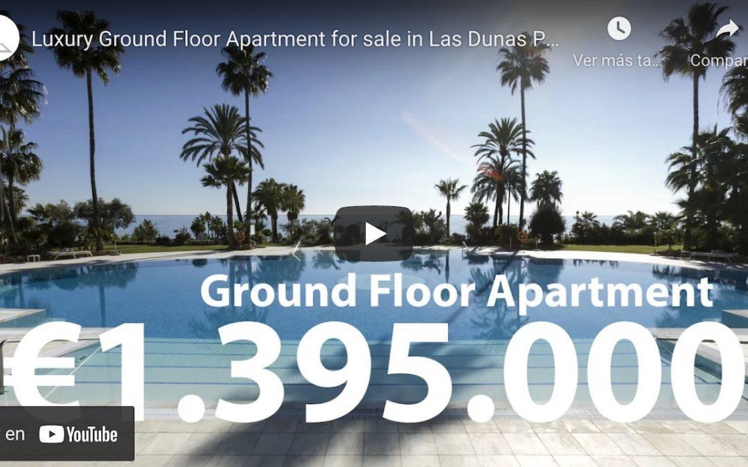 Las Dunas Park | R2941469 Luxury Ground Floor Apartment for sale (Video Tour)